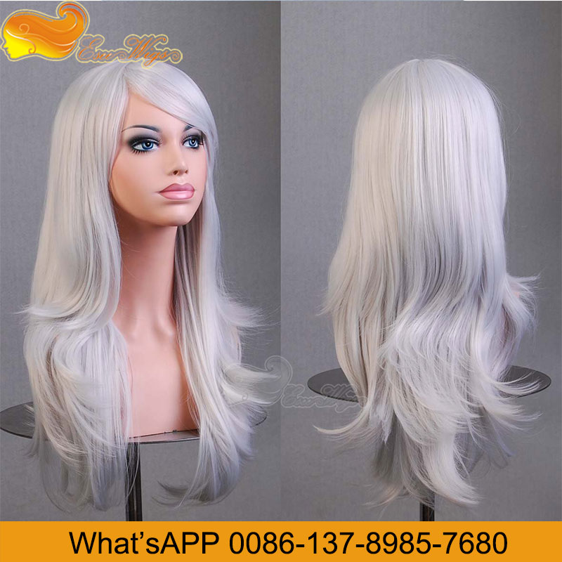 Eseewigs Silver Grey Human Hair Lace Wigs 8-24Inch In Stock