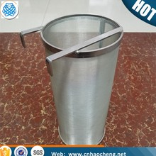 14*17 inch food grade stainless steel mesh bucket filter/hop strainer