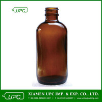 120ml amber liquid medicine bottle