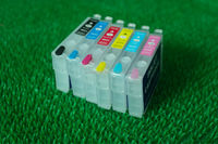 t0851-t0856 ink cartridge for Epson 1390 empty refillable cartridge