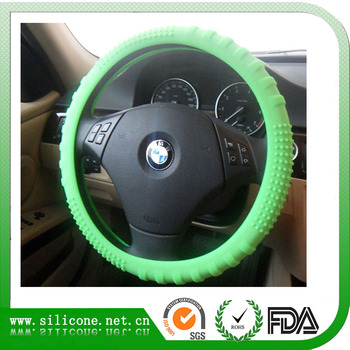 Custom your design silicone steering wheel cover