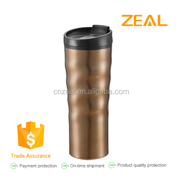 Zeal 450ml sale to Europe stainless steel travel mug sublimation mug