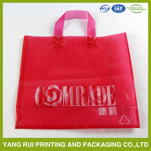 Made in China New Products Square die cut handle shoping plastic bag