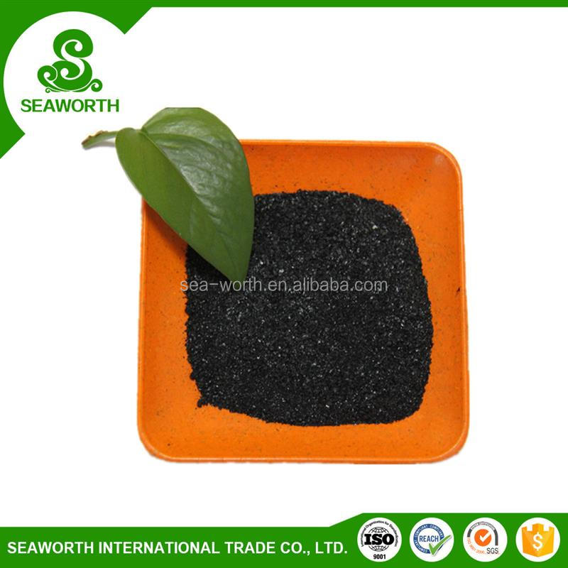 Natural sodium humate as a coloring agent with low price