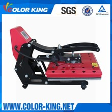 Colorking wholesale auto open high quality heat transfer press machine price on transfers heat press