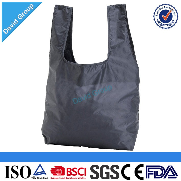 Alibaba Top Supplier Promotional Wholesale Custom Nylon Mesh Foldable Shopping Bag