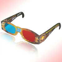2013 hot sale paper red cyan 3d glasses from first-hand 3d glasses manufacturers