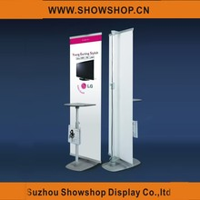 Hot Sale Poster Display Banner Stand Promotional Table