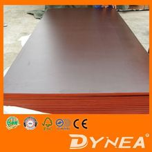 Black Concrete Formwork Film Faced Plywood with Logo Printed Melamine glue Eucalyptus core 1220x2440x18mm with great price