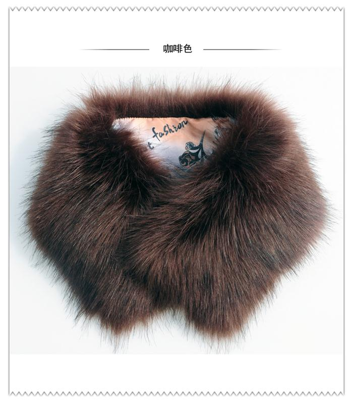 wholesale soft warm collar real fox fur trim /collar for hood