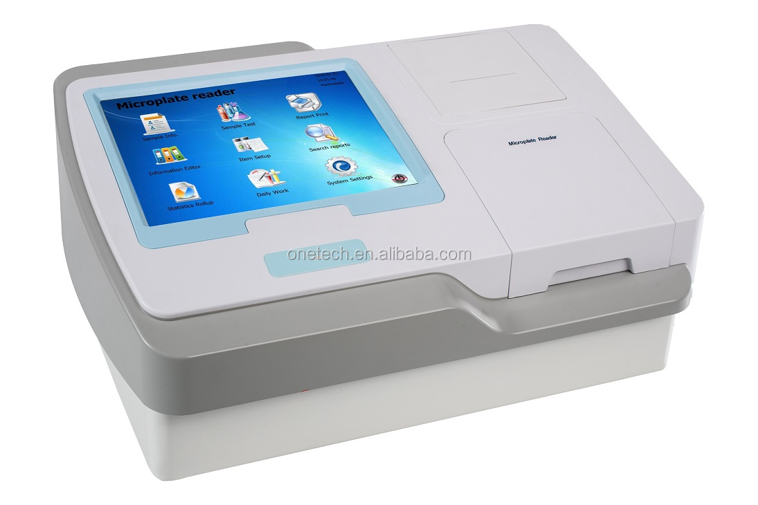 Newest type smart microplate 96 well plate elisa reader with good price E19