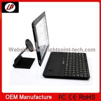 2014 best selling products ! wireless laptop keyboard for ipad 2/3/4 with 360 degree rotation