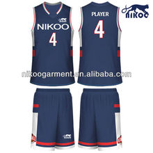 custom breathable dazzle basketball sportswear jersey and shorts