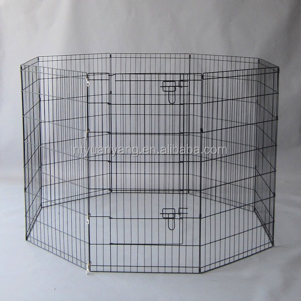 Eco-friendly Outdoor eight panels portable folding dog PlayPen