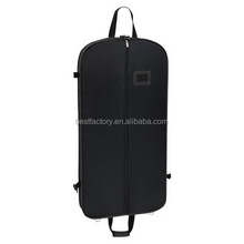 white suit cover garment bag, zippered garment bag wholesale, non woven suit bag