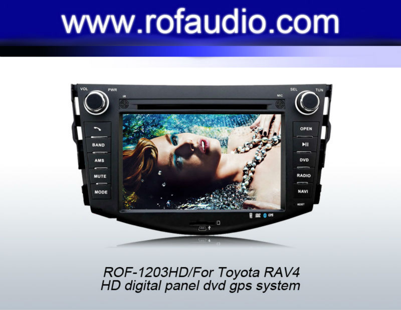 "Special 7"" Car DVD Player with GPS Navigation For TOYOTA RAV4 /COROLLA"
