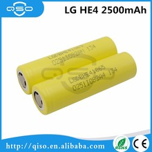 100% original LG ICR 18650 he4 2500mah battery for samsung galaxy s4 mini
