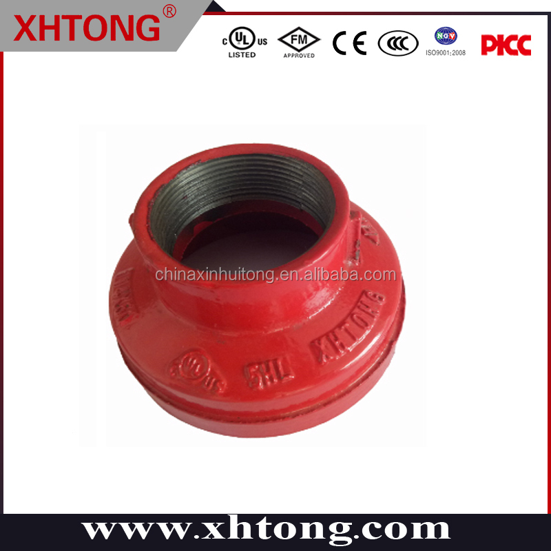 fm ul LISTED CHINA SUPPLIER reducerS concentric PAINTED
