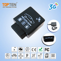 Factory New 3G OBD GPS Tracker For Remote Diagnostics/Driver Behavior Reports
