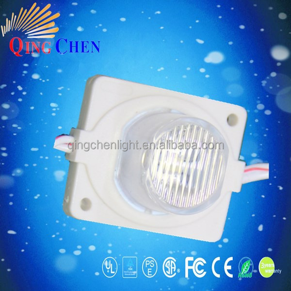 (Hot sale!!! Foe light boxes)Double side led module lamp/Edge light led module/ high power 1w led module