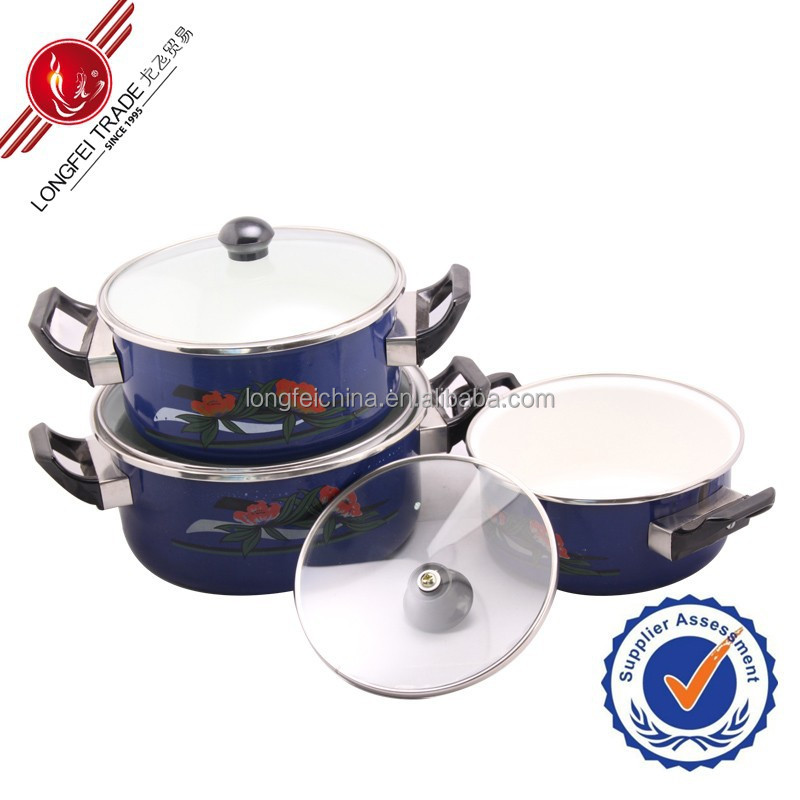 home cookware cookware sets Cast-iron Saucepan Large