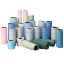 100% Virgin Wood Pulp Disposable Paper Bed Sheet Rolls For Spa
