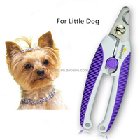 Animal Care Grooming Prodcuts Plastic Handle Pet Dog Nail Trimmer Clipper For Small Dogs Manufacturer