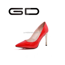 European Sexy Lady's Open Toe Platform Pumps 9.5cm Stiletto Thin Heel Party Shoes 3 Colors Free Shipping