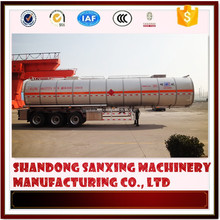 crude oil tank semi-trailer/fuel tanker truck dimensions/tanker vessel
