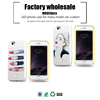 custom celulares 3d printer best led case light phone case for iphone 6 s 7 case lights linghting for samsung S7 note 5 note 3