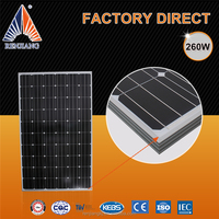 156mmx156mm High Efficiency solar panel 250w 260w 270w 300w 310w monocrystalline Solar Panel