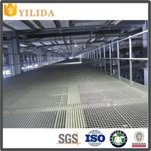 Galvanized welded parking lot steel grating for cars