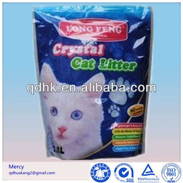 Cat litter packing bag