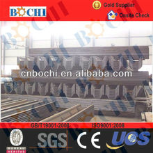 cold rolled and hot rolled size of sheet pile
