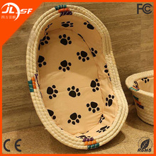 Cheap Boat Shape Pet Bed Cat Bed Dog House Wicker Dog Bed Wholesale