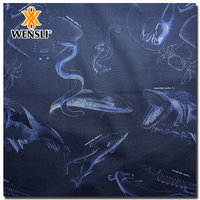 silk velvet fabric price Wensli Real Digital Print Silk Fabric For Shirt