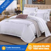 Luxury Hotel Bedding Embroidery Duvet Cover Set for Room Linen