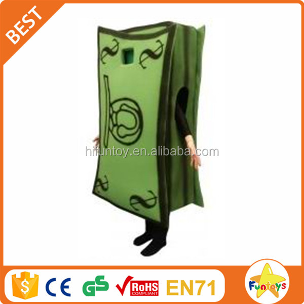 Funtoys CE Custom Made US Dollar Money Mascot Costume