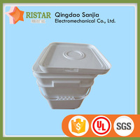 plastic bucket with cover and handle plastic 3 gallon bucket plastic square drum