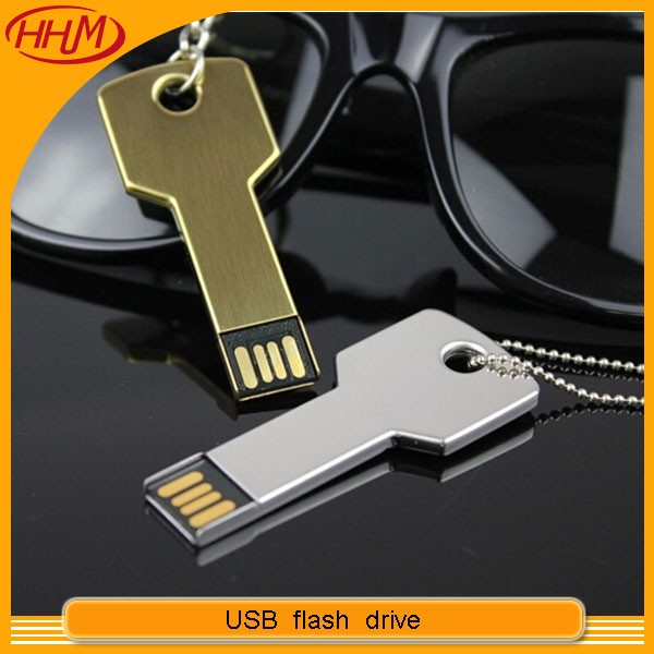 Company VIP Gift 2G 4G 8G 16G 32G Metal Key USB flash drive with your company logo