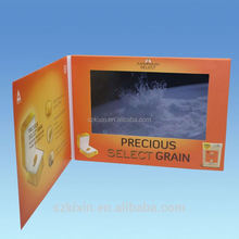 2.4 inch lcd screen digital video in print business card