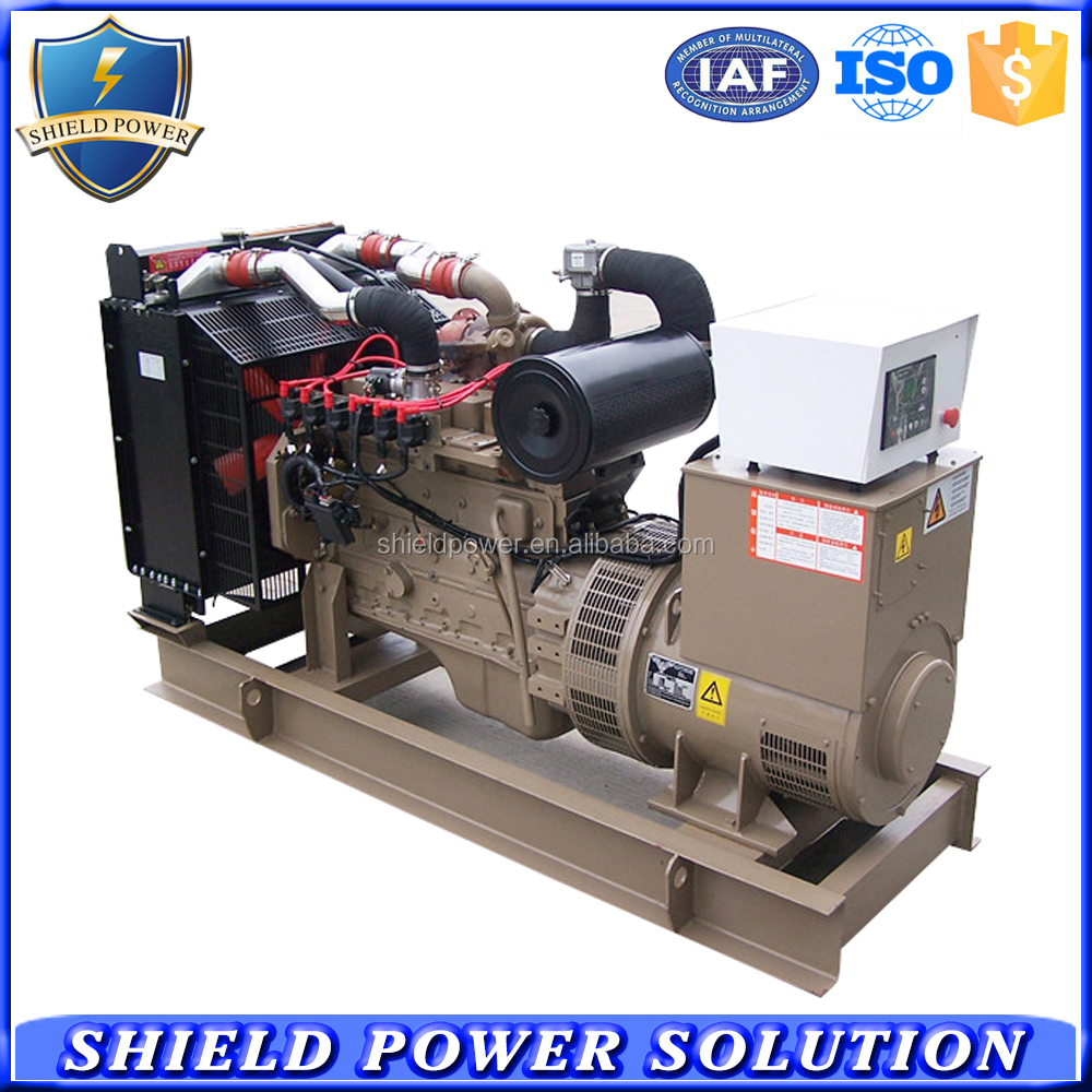 Open Type Natural Gas Generator, Silent Type Natural Gas Generator Set