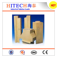 high density refractory fire clay brick of different sizes for rotary stove