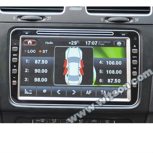 WITSON VOLKSWAGEN PASSAT B6 GPS NAVIGATION with Steering Wheel Control