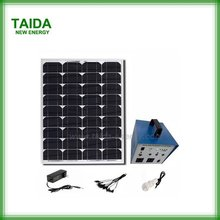 For rural area home electricity portable solar power system