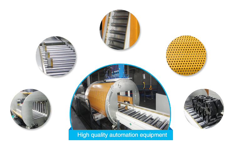 Automation equipment product line for car spare engine parts
