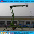 200kg trailer mounted articulated boom lifts