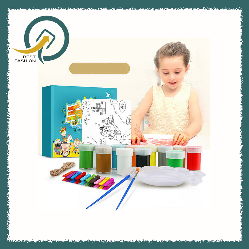 Can be washed diy graffiti painting for children Non-toxic finger painting