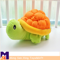 Custom cute animal shape plush baby toy with pp cotton material