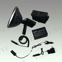 gz Rechargeable spot/floor Searchlight,100W Hunting equipment hid xenon conversion kit with handle klarheit direct